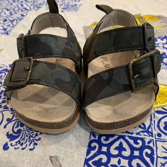 Children's Place Other - Children's Place camouflage toddler sandals